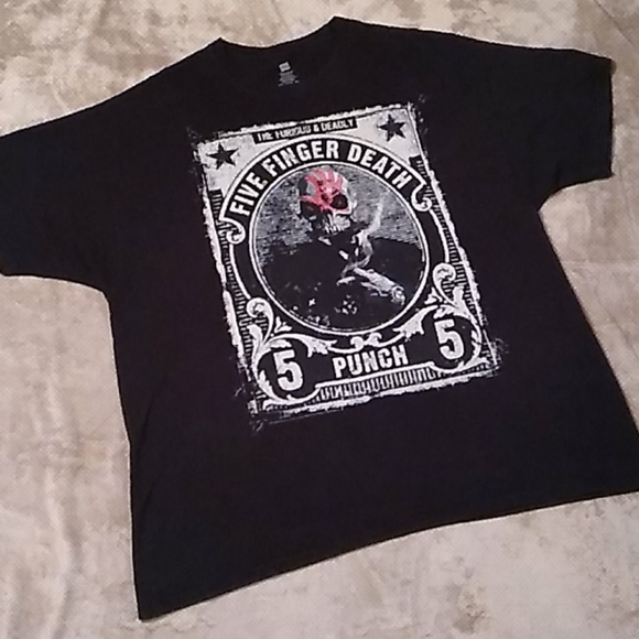 Hanes Other - FFDP the furious & deadly 2012 tour tee